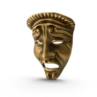 Tragedy Theatre Mask PNG & PSD Images