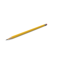 Yellow Pencil PNG & PSD Images