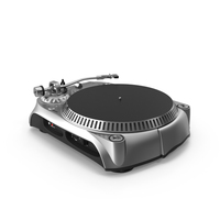 Belt Drive Turntable PNG & PSD Images