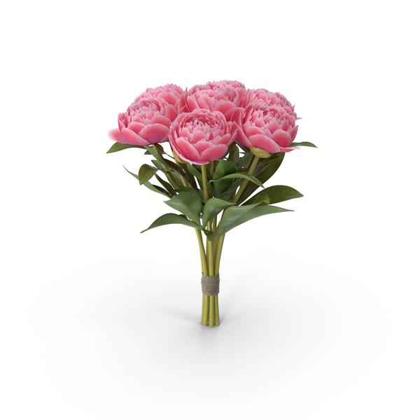 Peony Bouquet Object