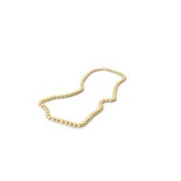 Gold Mardi Gras Beads PNG & PSD Images
