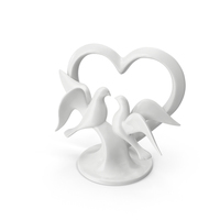 Wedding Cake Topper PNG & PSD Images