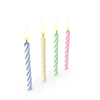 Birthday Candles PNG & PSD Images