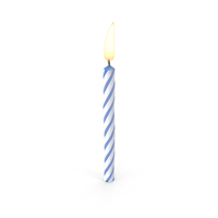 Birthday Candle PNG & PSD Images
