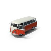 Volkswagen Type 2 Kombi Bus PNG & PSD Images