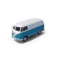 Volkswagen Type 2 Panel Van PNG & PSD Images