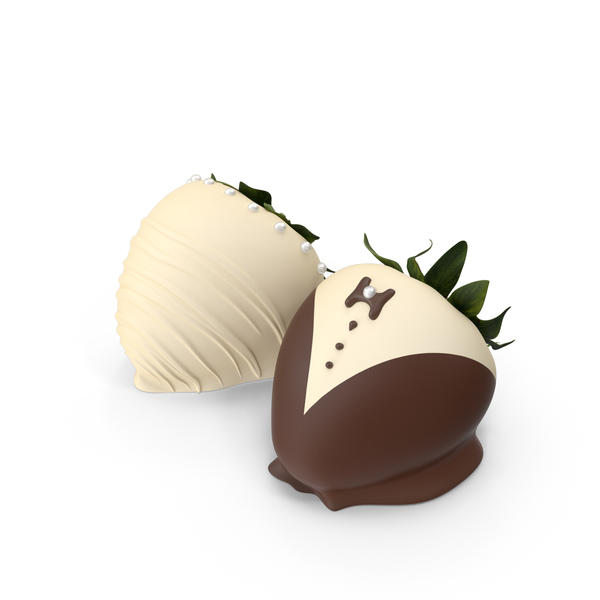 Chocolate Covered Strawberries PNG & PSD Images