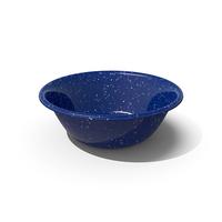 Blue Enamel Bowl PNG & PSD Images
