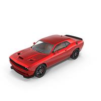 Dodge Challenger SRT Hellcat 2015 PNG & PSD Images