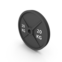 Barbell Weight 20kg PNG & PSD Images