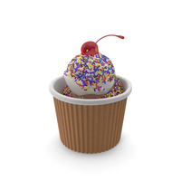 Ice Cream Cup PNG & PSD Images