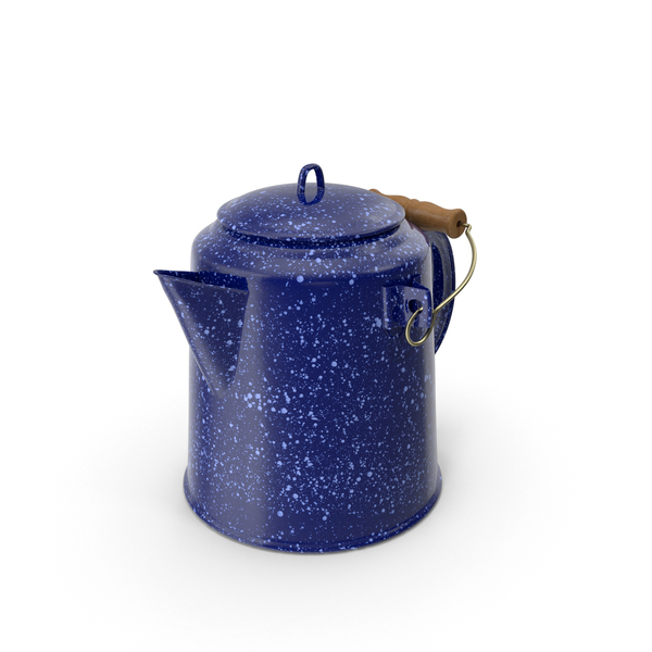 Camping Coffee Pot Object