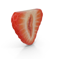 Strawberry Slice PNG & PSD Images