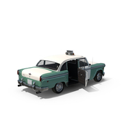 Checker Taxicab 1982 PNG & PSD Images