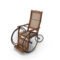 Vintage Wheelchair PNG & PSD Images