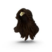 Wonder Woman Tiara With Hair PNG & PSD Images