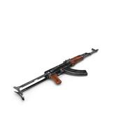 Assault Rifle AKMS PNG & PSD Images