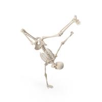 Skeleton Break Dance PNG & PSD Images