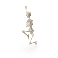 Skeleton Uppercut Punch PNG & PSD Images