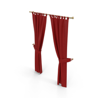 Red Curtain PNG & PSD Images