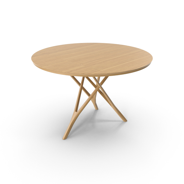 Wood Tripod Table PNG & PSD Images