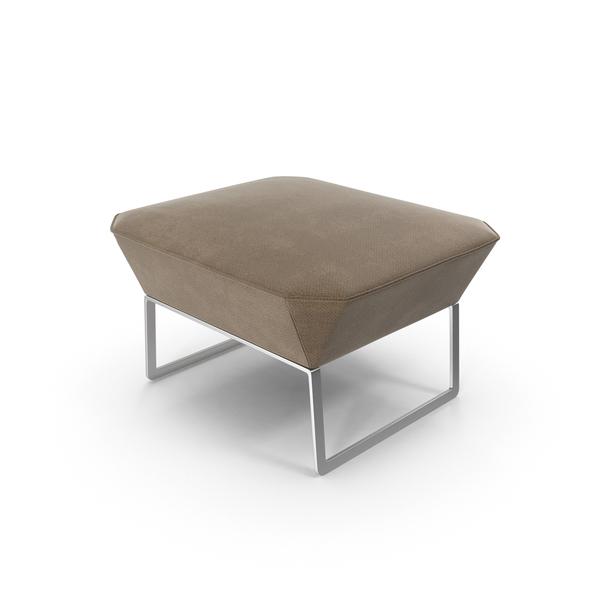 Gray Ottoman Object