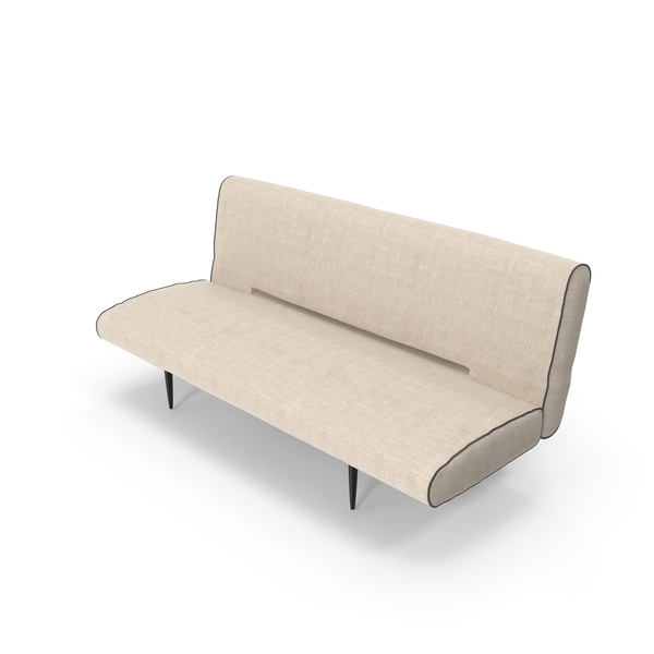 Simple Fabric Sofa Object