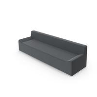Dark Fabric Angular Sofa PNG & PSD Images