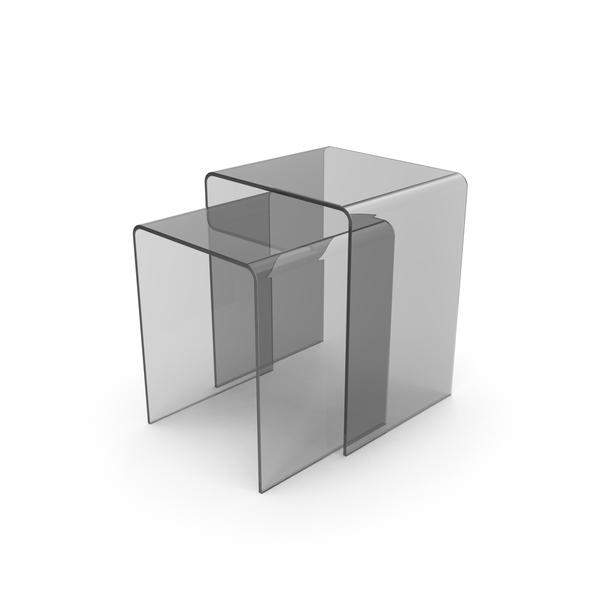 Clear Sliding End Tables PNG & PSD Images