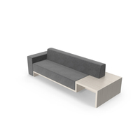 Blocky Sofa PNG & PSD Images