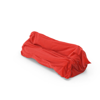 Red Fabric Covered Sofa PNG & PSD Images