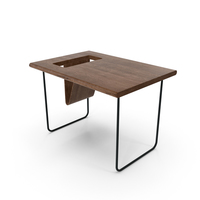 Modern Wooden Table PNG & PSD Images