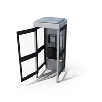 Telephone Box Open PNG & PSD Images