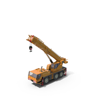 Compact Mobile Crane PNG & PSD Images