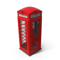 British Telephone Box PNG & PSD Images