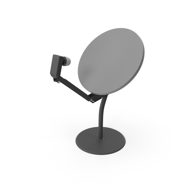 Rooftop Satellite Dish PNG & PSD Images