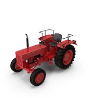 Tractor Mahindra 395 DI PNG & PSD Images