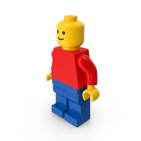 Classic Lego Man PNG & PSD Images