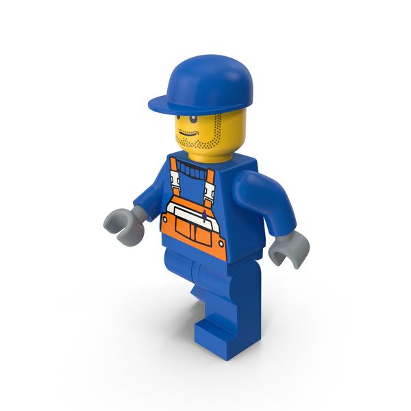 Lego Man Worker Object