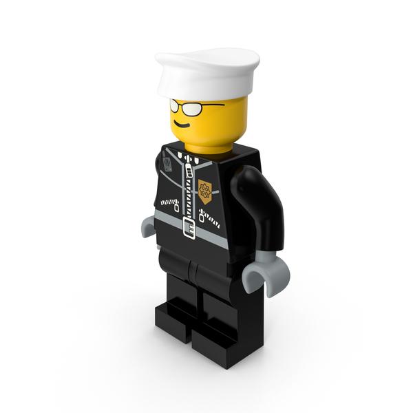 Lego Policeman Object