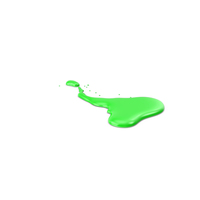 Green Paint Dab PNG & PSD Images