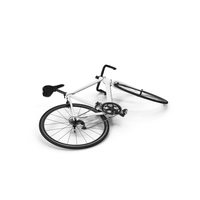 Road Bike Laying Down PNG & PSD Images