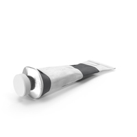 Grey Acrylic Paint Tube PNG & PSD Images