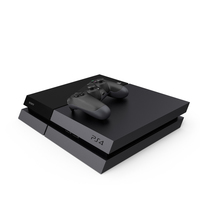 Sony PlayStation 4 PNG & PSD Images