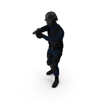 SWAT Officer PNG & PSD Images