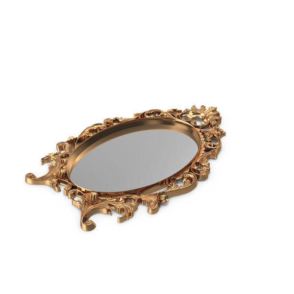 Ornate Mirror Object