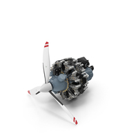 Pratt and Whitney R-2800 PNG & PSD Images