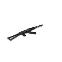Assault Rifle AKS-74 PNG & PSD Images
