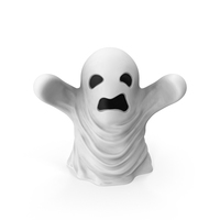 Ghost Decoration PNG & PSD Images