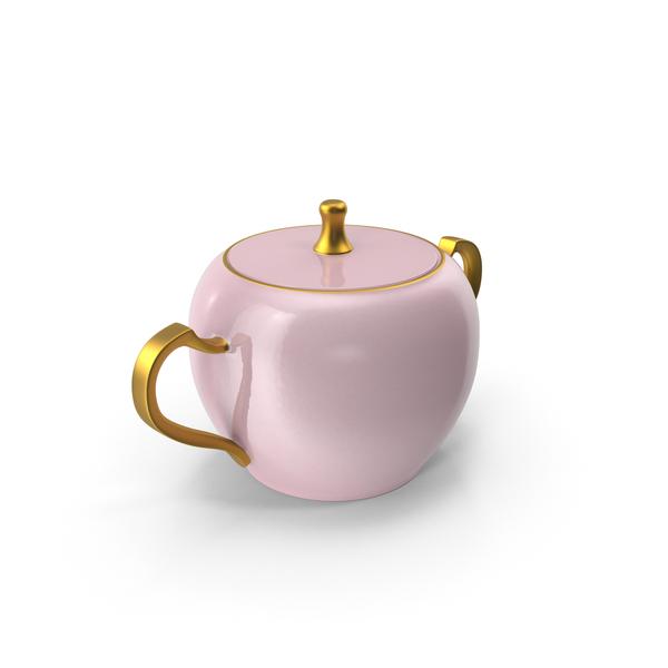 Princess Tea Sugar Bowl PNG & PSD Images